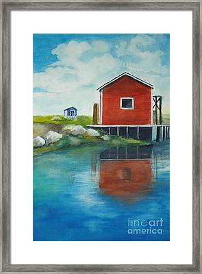 Molly Framed Print by Vivian  Mosley