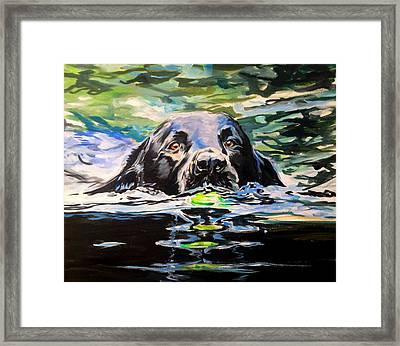 Molly's Ebb Framed Print by Lauren Kuhn