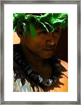 Molokai Kane Framed Print by James Temple
