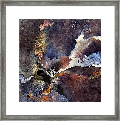 Molten Framed Print