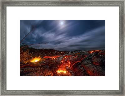 Molten Dream Framed Print