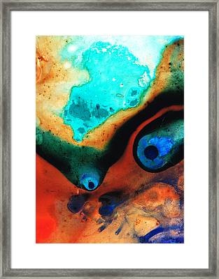 Molten Earth Framed Print by Sharon Cummings