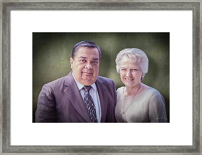 Mom And Pops Framed Print by Don Olea