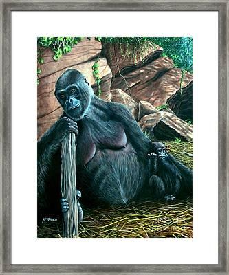 Mom Framed Print by Antonio F Branco