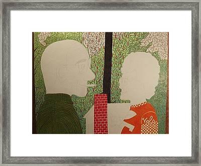 Mom Dad And Home No More Framed Print
