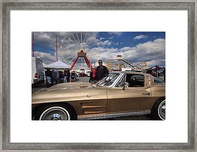 Mom N Vette Framed Print