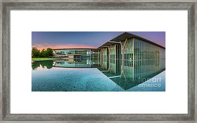 Moma Panorama Framed Print by Inge Johnsson