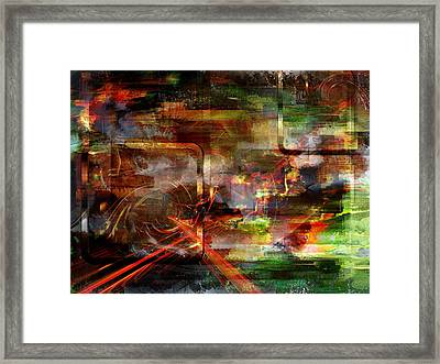 Moment.. Framed Print