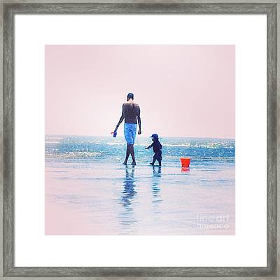 Moment Framed Print