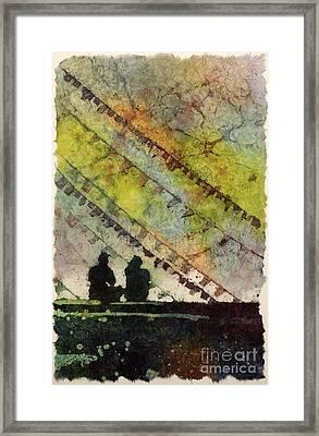 Moment In Time- Nepal Framed Print