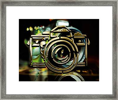 Moment Maker Camera Collection Framed Print by Marvin Blaine