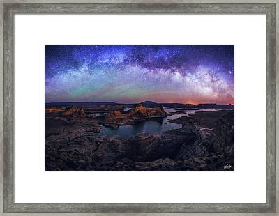 Moment Of Being Framed Print by Peter Coskun