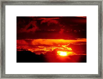 Framed Print featuring the photograph Moment Of Majesty by Bruce Patrick Smith