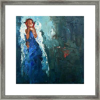 Moment Of Quietude Framed Print by Judy Mackey