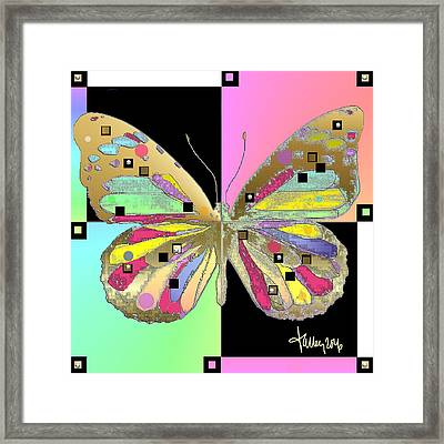 Moment Of Transformation II Framed Print
