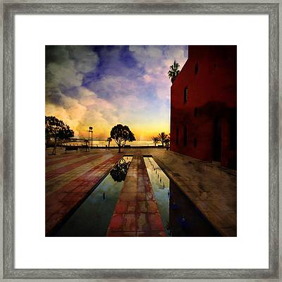Moment Of Truth Framed Print