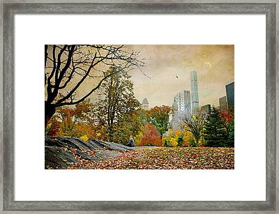 Moment To Moment Framed Print
