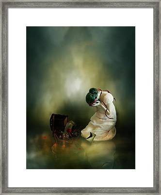 Momento Framed Print by Mary Hood