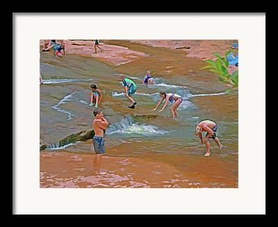 Oak Creek Mixed Media Framed Prints
