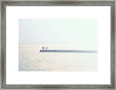 Moments Framed Print by Cho Me
