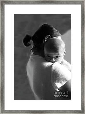 Moments I Framed Print by Chuck Kuhn