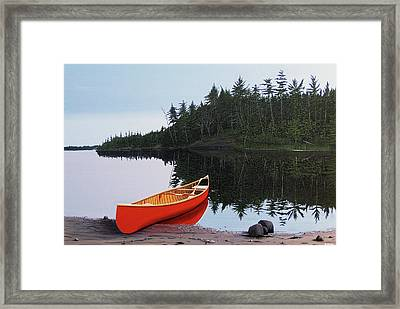 Moments Of Peace Framed Print by Kenneth M  Kirsch