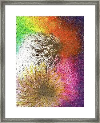 Moments Of The Divine Enlightenment #686 Framed Print by Rainbow Artist Orlando L aka Kevin Orlando Lau
