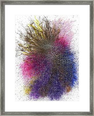 Moments Of The Divine Enlightenment #690 Framed Print by Rainbow Artist Orlando L aka Kevin Orlando Lau