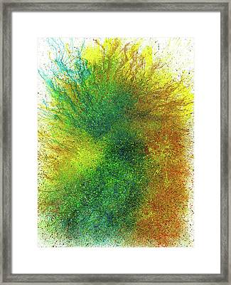 Moments Of The Divine Enlightenment #691 Framed Print by Rainbow Artist Orlando L aka Kevin Orlando Lau