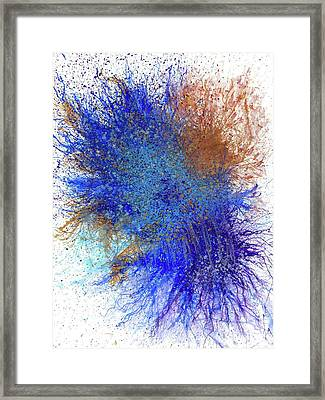 Moments Of The Divine Enlightenment #692 Framed Print by Rainbow Artist Orlando L aka Kevin Orlando Lau
