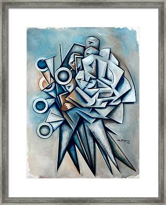 Momentum Independent Framed Print by Martel Chapman
