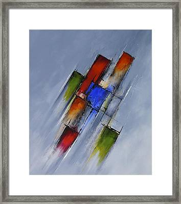 Momentum Framed Print by Jo Appleby