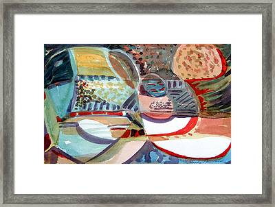 Momentum Framed Print by Mindy Newman