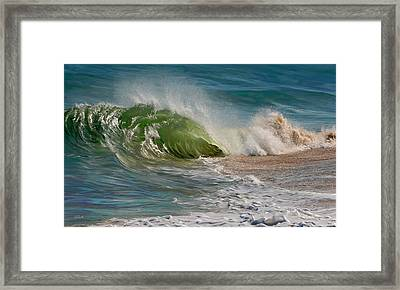 Momentum Framed Print by Sue  Brehant