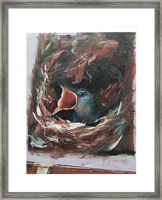 Momma  Framed Print