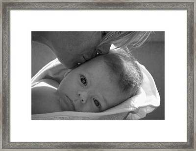 Momma's Boy Framed Print