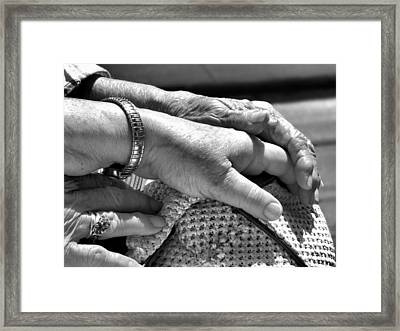 Momma's Love Framed Print by Laura Ragland