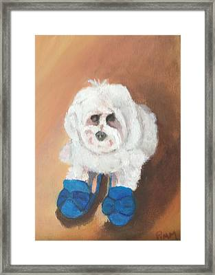 Mommie's Shoes Framed Print