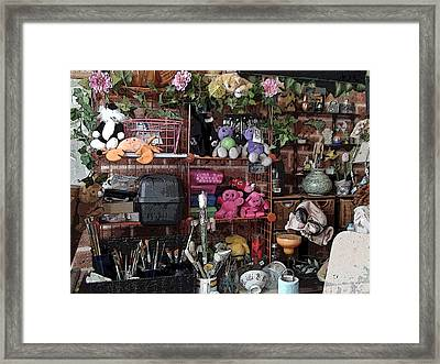 Mom's Cave Framed Print by Grace Rose
