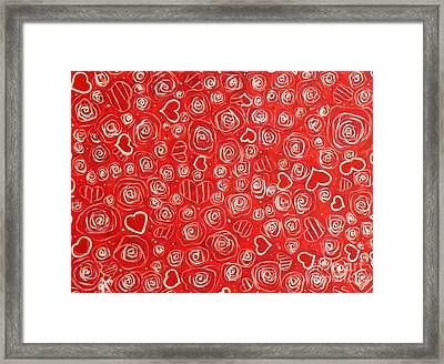 Mom's Garden Framed Print