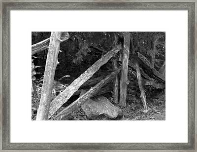 Momvisitcarterlanefence1 Framed Print by Curtis J Neeley Jr