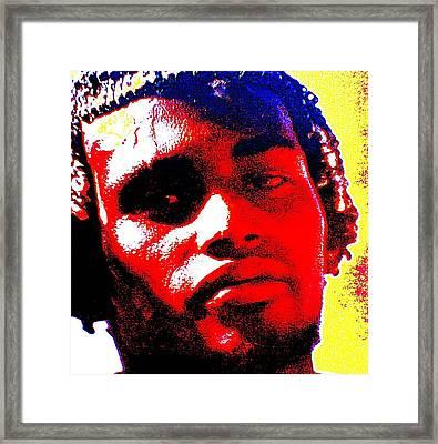 Mon Homme Denali Framed Print