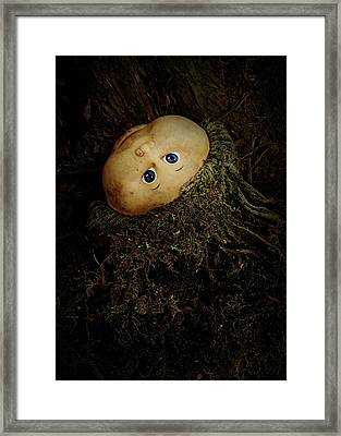 Mon Petit Chou Framed Print by Rebecca Sherman