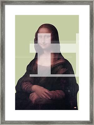 Mona 1 Framed Print