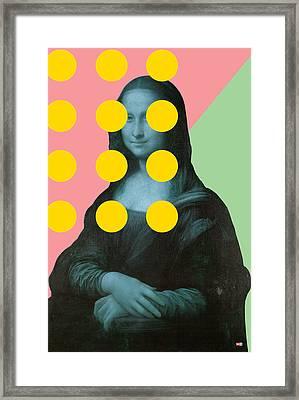 Mona 2 Framed Print