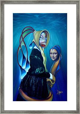 Mona Eelsa Framed Print by Patrick Anthony Pierson