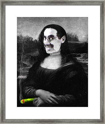 Mona Grouchironi Framed Print by Seth Weaver