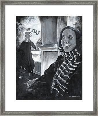 Mona Sandra  Framed Print