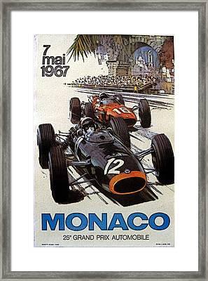 Monaco 67 Framed Print