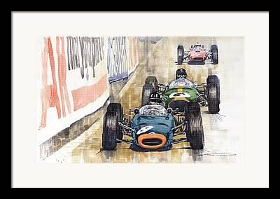 Monaco Framed Prints